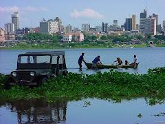 Asunción vista desde la Bahía