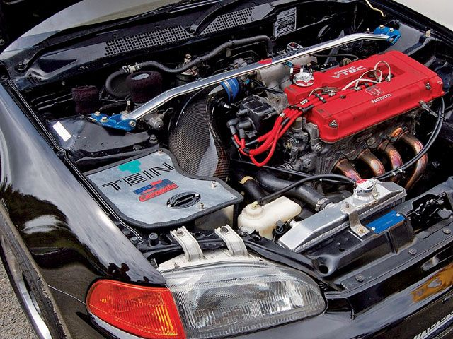 Modified Carz And Bikes B18 Engine