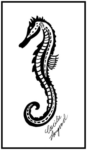 sea horse tattoo. Seahorse Tattoo - Page 2