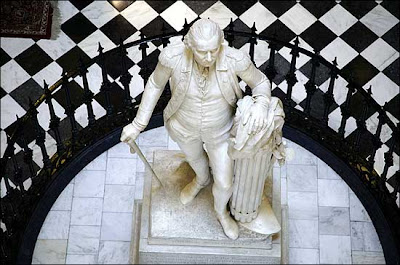 statue of George Washington Houdon