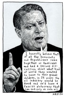 Al Gore Cartoon