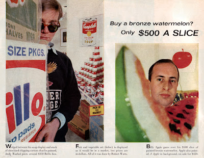 warhol and billy apple