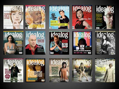 idealog magazine covers Issue 1-15