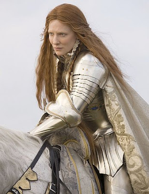 Cate Blanchett as Elizabtheh 1