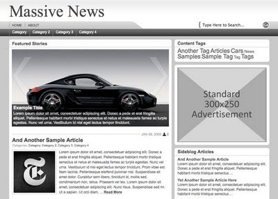 Massive News WP Theme from Press75