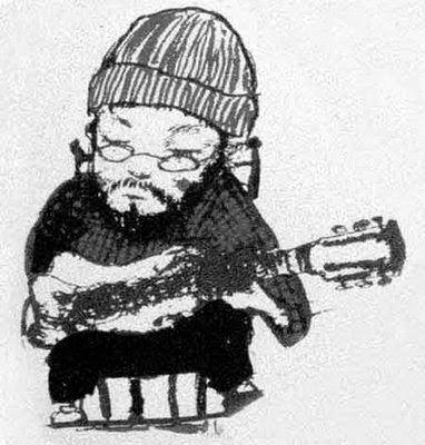 Charlie Parr drawing