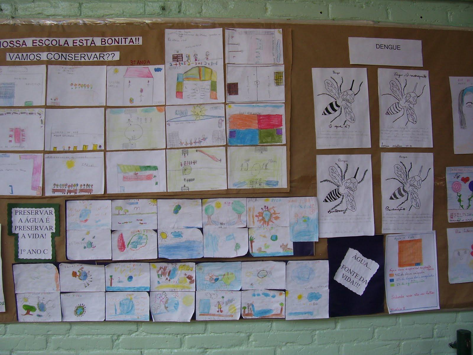 Portal do professor estudando os movimentos do planeta for Mural sobre o meio ambiente