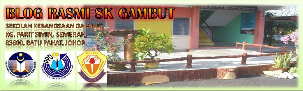 PORTAL RASMI SK GAMBUT, BATU PAHAT (JBA 0007)