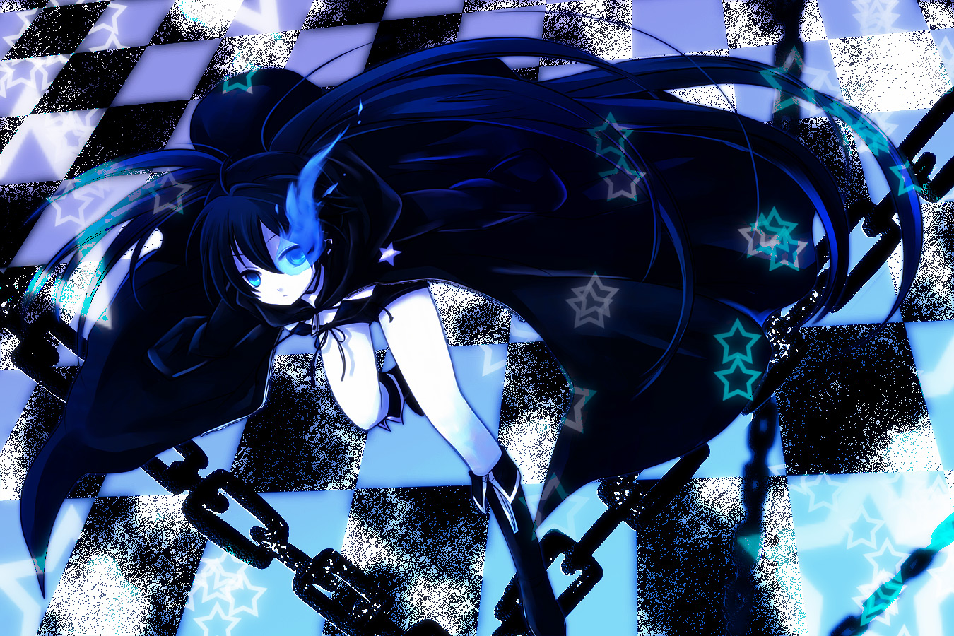 Black Rock Shooter Characters