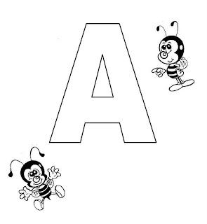 Blog da Escola e Cia: Trabalhando com vogais - letra A