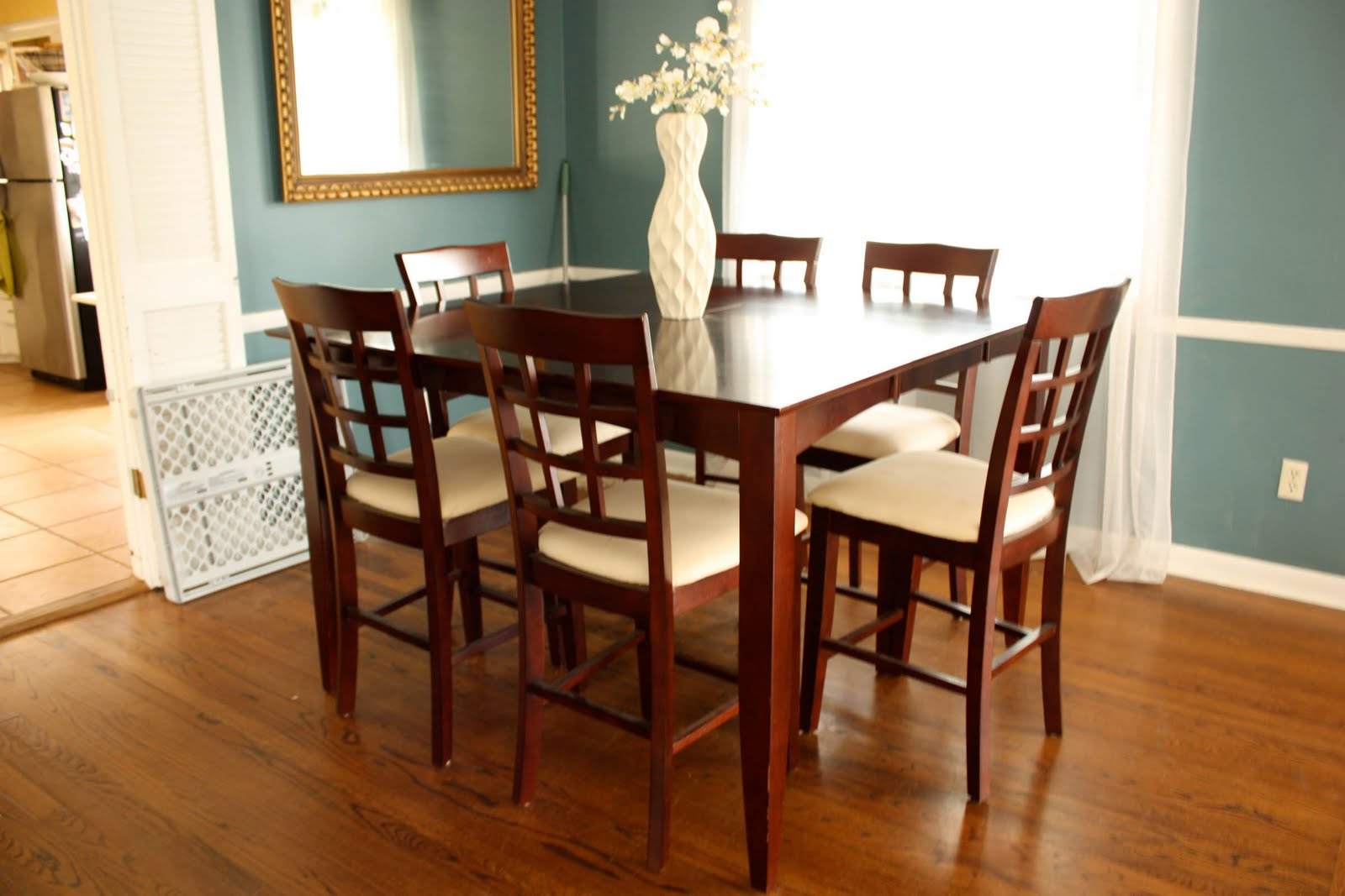 So  after a year and 4 months of living together and me perusing furniture  stores online constantly  I found a few dining tables I really like   and  decided. Babalou  Changes in Dining