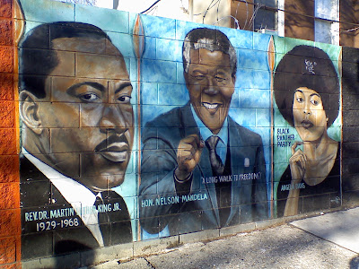 The brooklyn trolley blogger black history month a mural for Black history mural
