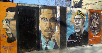 The brooklyn trolley blogger black history month mural for Black history mural