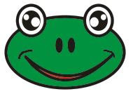 cartoon frog