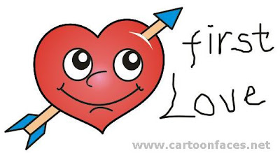 first love cartoon picture