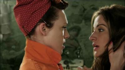 Erin Cummings and America Olivo Lesbian Kiss Bitch Slap, Lesbian Movie