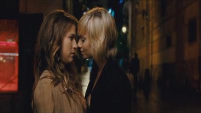 Norma Ruiz and Salome Jimenez, Tensión sexual no resuelta Lesbian Scene
