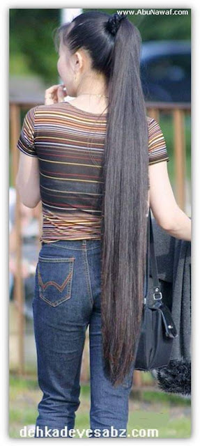 06 - beautiful Long hairs