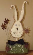 Happy Spring Bunny