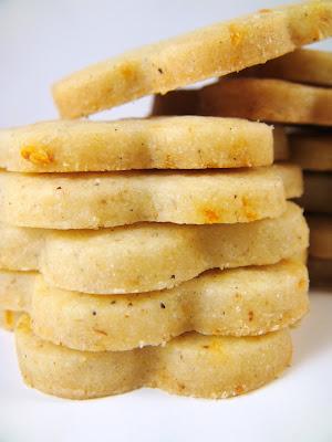 Orange Cardamom Cookies - Baked by Joanna