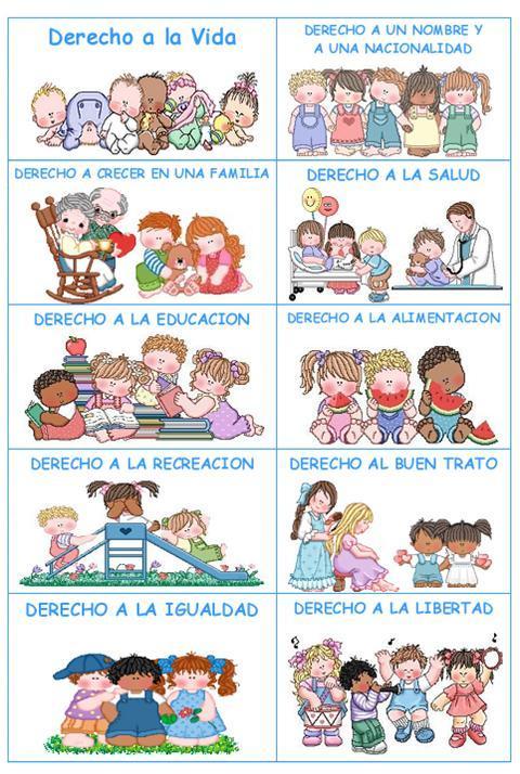 Me gusta la clase de religión: Cartel de los derechos del niño