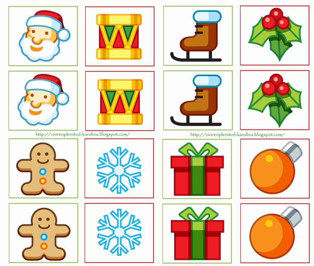Dulces Momentos ❤»✿⊰ ★: Memorama Navidad!!