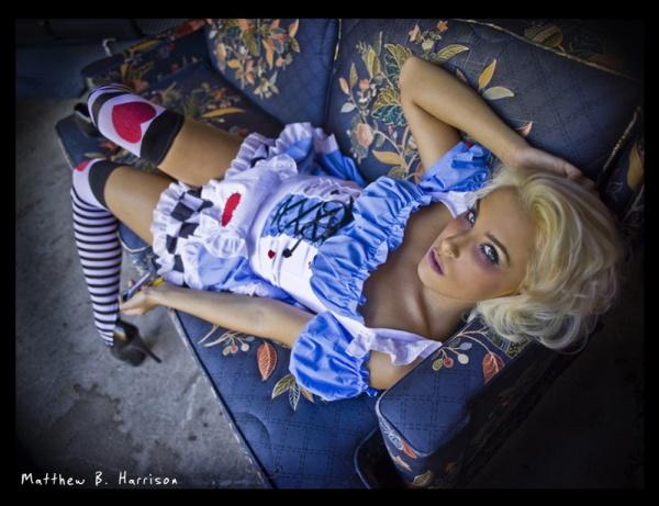 Sexy Dark Alice in Wonderland