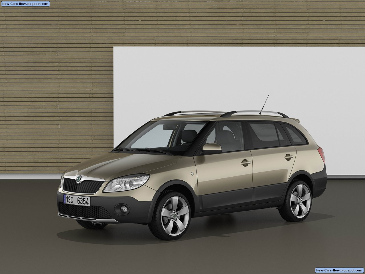 skoda fabia combi scout 2011. Black Bedroom Furniture Sets. Home Design Ideas