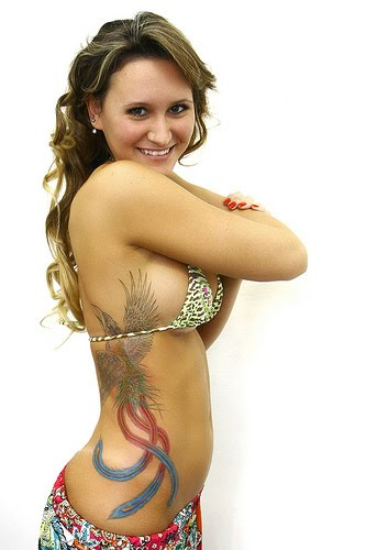 girls Phoenix Tattoo designs3