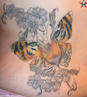 EXTREME NAUGHTY JAPAN Butterfly Tattoo Designs