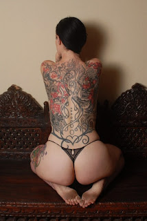 Tribal Tattoo | Sexy Girlwith Full Body Tattoo  Design