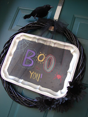 DIY Simple Halloween Decor | Halloween Wreath