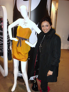 BBC London News Presenter Riz Lateef at the Jaeger press event.  Photo by Lucia Carpio.