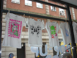 T-Shirts at Eco Chic.  Photo by Lucia Carpio.