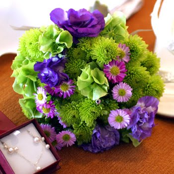 green purple: