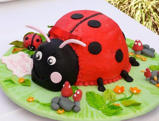 Birthday Cake: Ladybug Cake Ideas