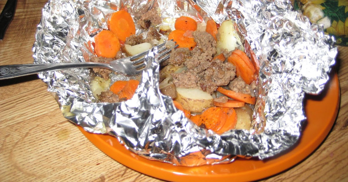 how to cook tin foil dinners in the oven