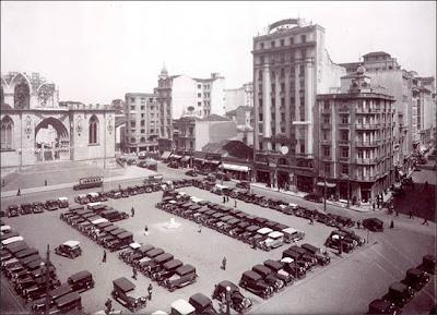 PÇA DA SE- (Catedral em construção) – 1938