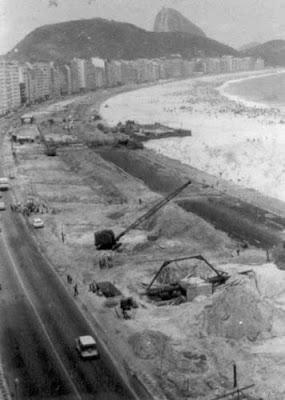 Praia de Copacabana - 1967