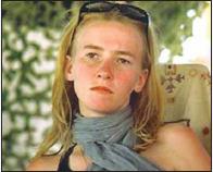 HOMENAJE A RACHEL CORRIE. (10 de Abril 1979 - 15 de Marzo 2003)