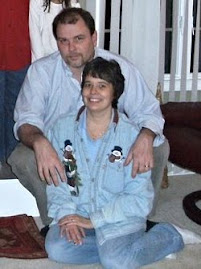 Me and my husband, Christmas 2010