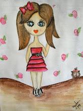 Olha a Bonequinha da Chiquinha Bacana!! Inspirada na Gabi