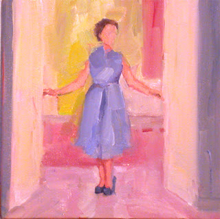 The Blue Dress by Liza Hirst