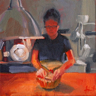 In the Kitchen by Liza Hirst