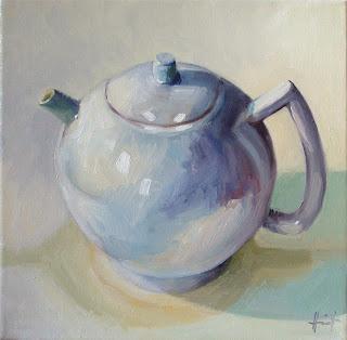 Teapot by Liza Hirst