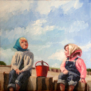 The Red Bucket by Liza Hirst
