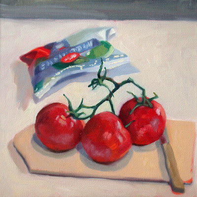 Tomatoes by Liza Hirst