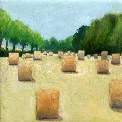 Haystacks by Liza Hirst