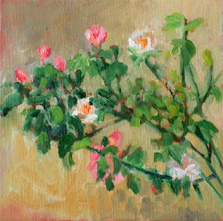 Branch of Roses by Liza Hirst