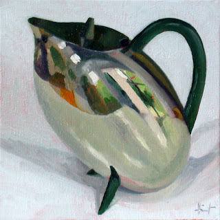 French Teapot by Liza Hirst